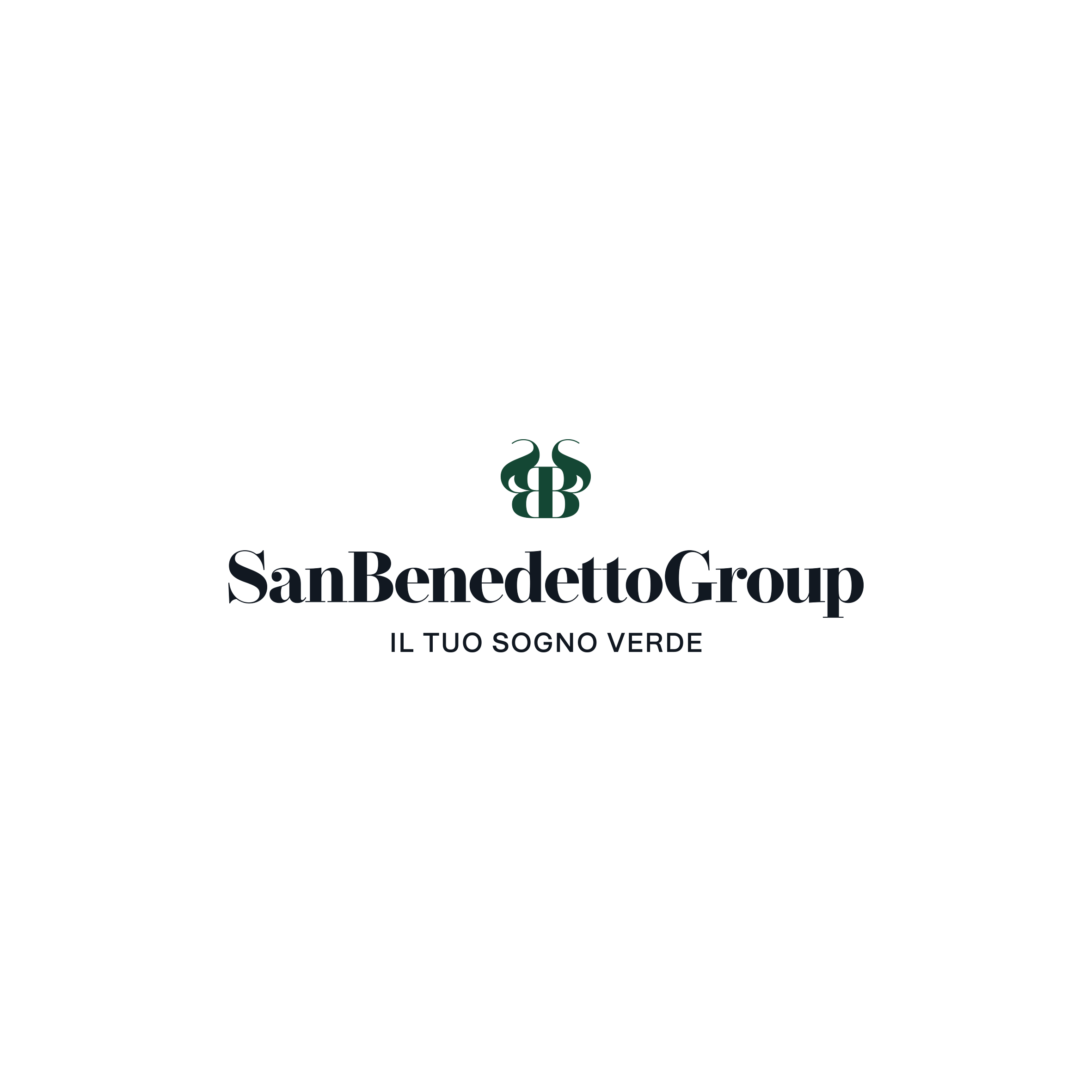 Logo San Benedetto Group — Colore — Positivo